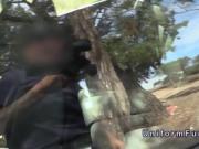 Fake cop picks up Spanish Milf for sex in public