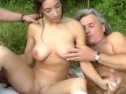 Couple Drives Out To A Field For A Hot And Sexy Time