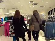 Adorable czech nympho is seduced in the mall and rode in pov