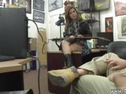Amateur teen threesome cam first time Pawnstar meets a rockst