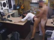 Woman caught masturbating public PawnShop Confession!
