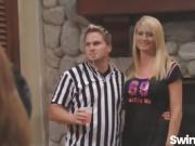 Nikki And Mark Join Hot Swinger Orgy