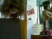 indian mumbai rich aunty enjoys with houseboy