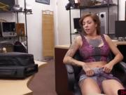 Tattooed Harlow enjoys fucking pawndudes big hard cock