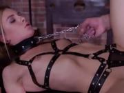 Wild Teen In Bondage Alecia Fox Gets Impaled