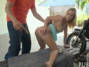 Sexy amateur blonde Eurobabe gets drilled for some cash