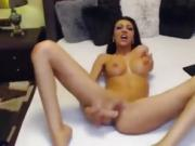 camgirl dildo in pussy faster