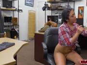Naughty Lexi Banderas bounces on Shawns cock for money