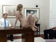 Sexy blonde teen creampie He put me on my back and pushed my