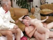 Teen hd blow job swallow Frannkie heads down the Hersey highw