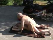 OLD YOUNG PORN - Grandpa Fucks Teen Hardcore blowjob