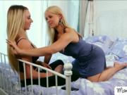 Smoking hot lesbian dreams come true with Sarah and Molly