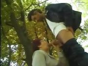 A man caught by a milf to outskirts - More On HDMilfCam,com