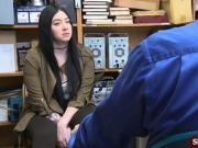 Busty teen shoplifter fucked by officer