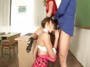 Nasty teachers seduced young student - LUSTERY.CF