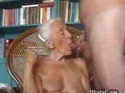 You will be surprised to see what this granny can do OlalaCam