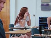 Classmate Fucks Slutty Hot Teen Schoolgirl In Detention