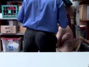The LP Officer shove his cock balls deep