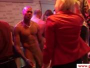 Real skanky Euro amateurs cockriding during sex party