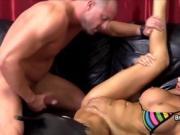 Stunning babe Jasmine Jae rides a thick cock