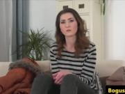 Casted euro amateur cockriding office agent