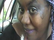 Cosplay Girl Nilou Achtland Smoke and Masturbates in Car #OV1