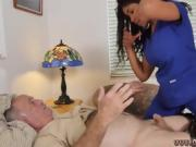 Amateur swallow compilation gagging Glenn ends the job!