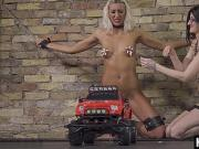 Hot pornstar bdsm bondage with cumshot b1