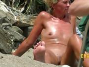 Nudist MILFs Nudist Beach Spycam Compilation