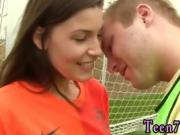 Girl fetish teen porn Dutch football player boinked by