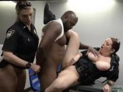 Wife black group and red bra blowjob Milf Cops
