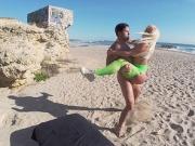 Blondie Fesser butt Beach