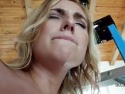 Now fearless blonde anal fucked