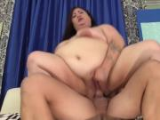BBW Moon Baby Opens Her Cunt for a Dick