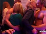 Spicy sweeties get fully insane and nude at hardcore party