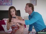 Teen Step Daughter Fucked To Orgasm By Dad After Agreement