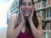 Flashing an Masturbating in a Public Library
