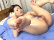 Asian Babe Loves To Get Her Pussy Played With