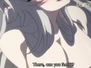 Anime Babe Gives A Tit Job And A Blowjob