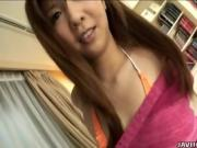 Asain Cutie Takes Her Time Teasing Her Hung Man