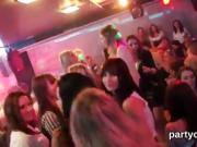 Sexy chicks get fully insane and stripped at hardcore party