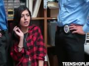 Cute teen Audrey Royal getting drilled hard in the office