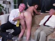 2 old man Ivy impresses with her gigantic tits and ass