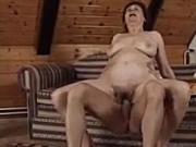 Granny Hannah fucked by younger man