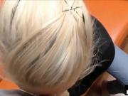 Blonde Milf Fucks Stranger After Boyfriend Bustup