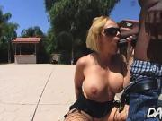Busty MILF Sunny Day Satisfies Her Lustful Asshole with a BBC