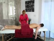 Milf masseuse goes 100