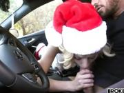 Haley Reed The Horny Christmas Hitchhiker