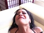 Kimberly Kendall loves sucking Lexington Steele huge cock