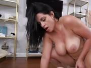 Freaky Maid Cristal Caraballo Gets Impaled By Hung Boss